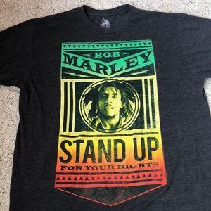 "Bob Marley ""Stand Up"" Zion men's T-shirt L"